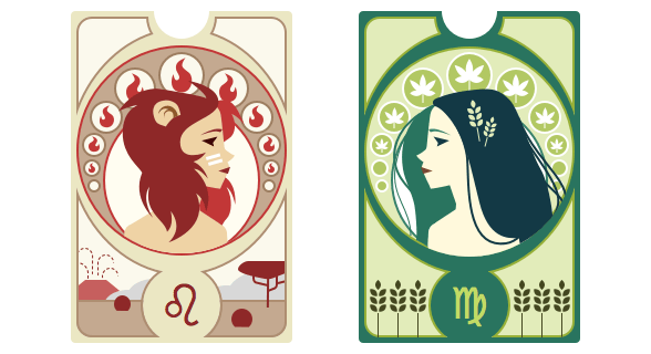 Zodiac Signs and Cameos - image 9 - student project