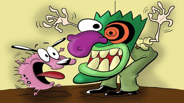 Courage the cowardly Dog - image 1 - student project