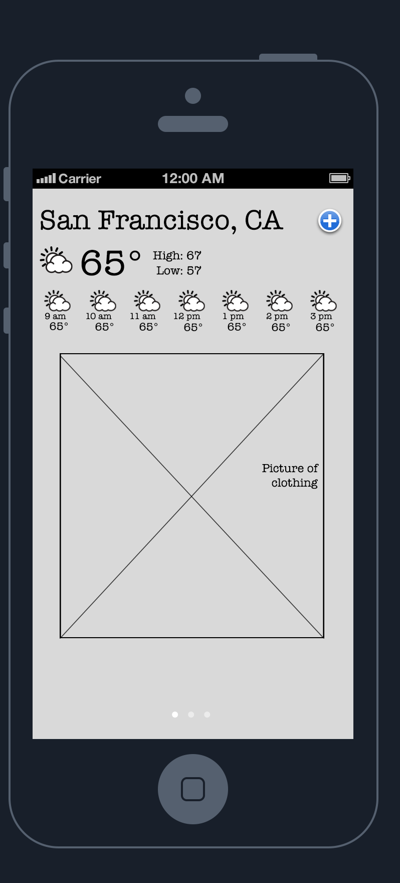 Weather app: the weathering. - image 4 - student project