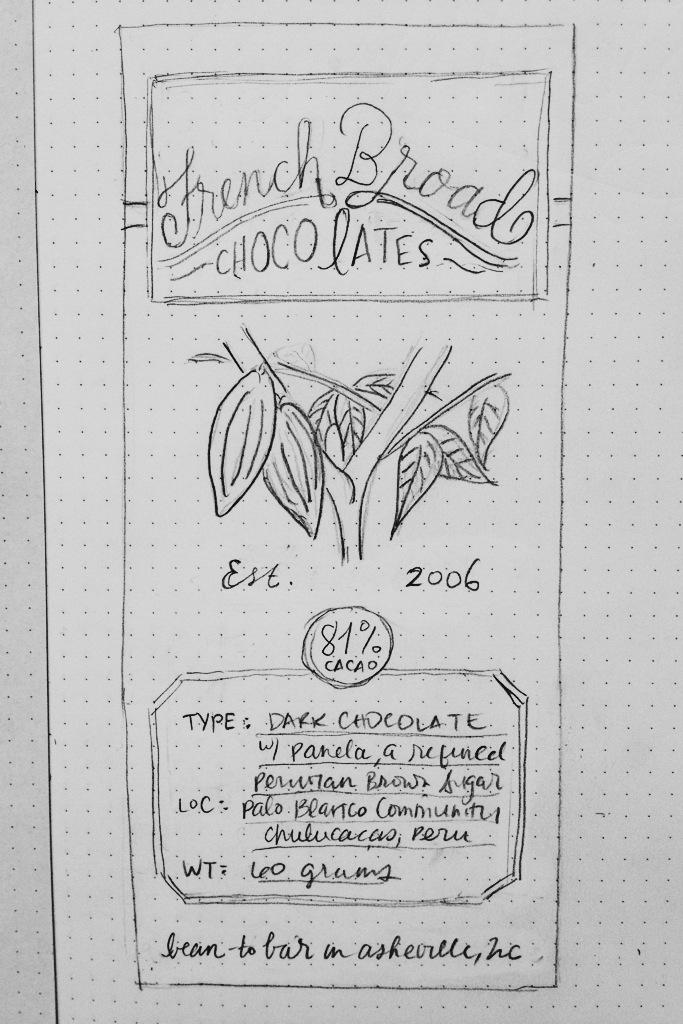 french broad chocolates! - image 3 - student project