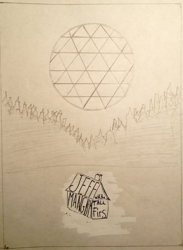 Jeff Mangum (Neutral Milk Hotel) With Tall Firs Gig poster - image 5 - student project