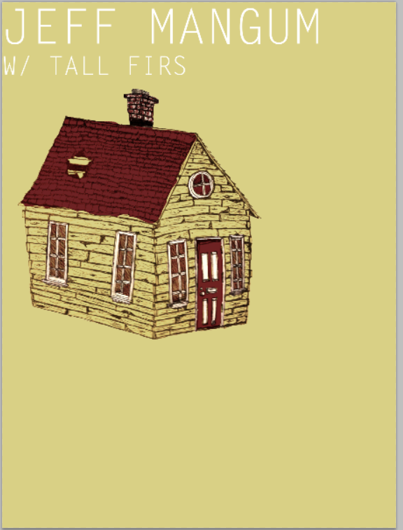 Jeff Mangum (Neutral Milk Hotel) With Tall Firs Gig poster - image 19 - student project
