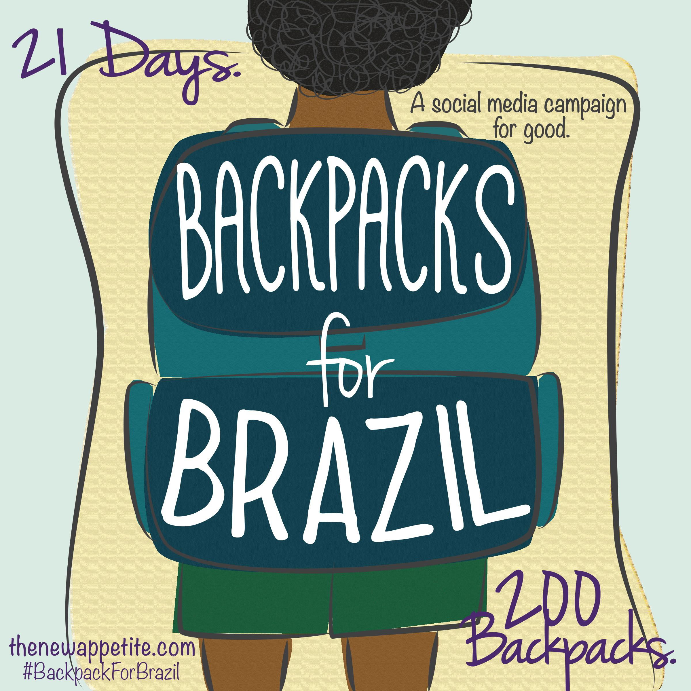 Backpacks for Brazil - image 1 - student project