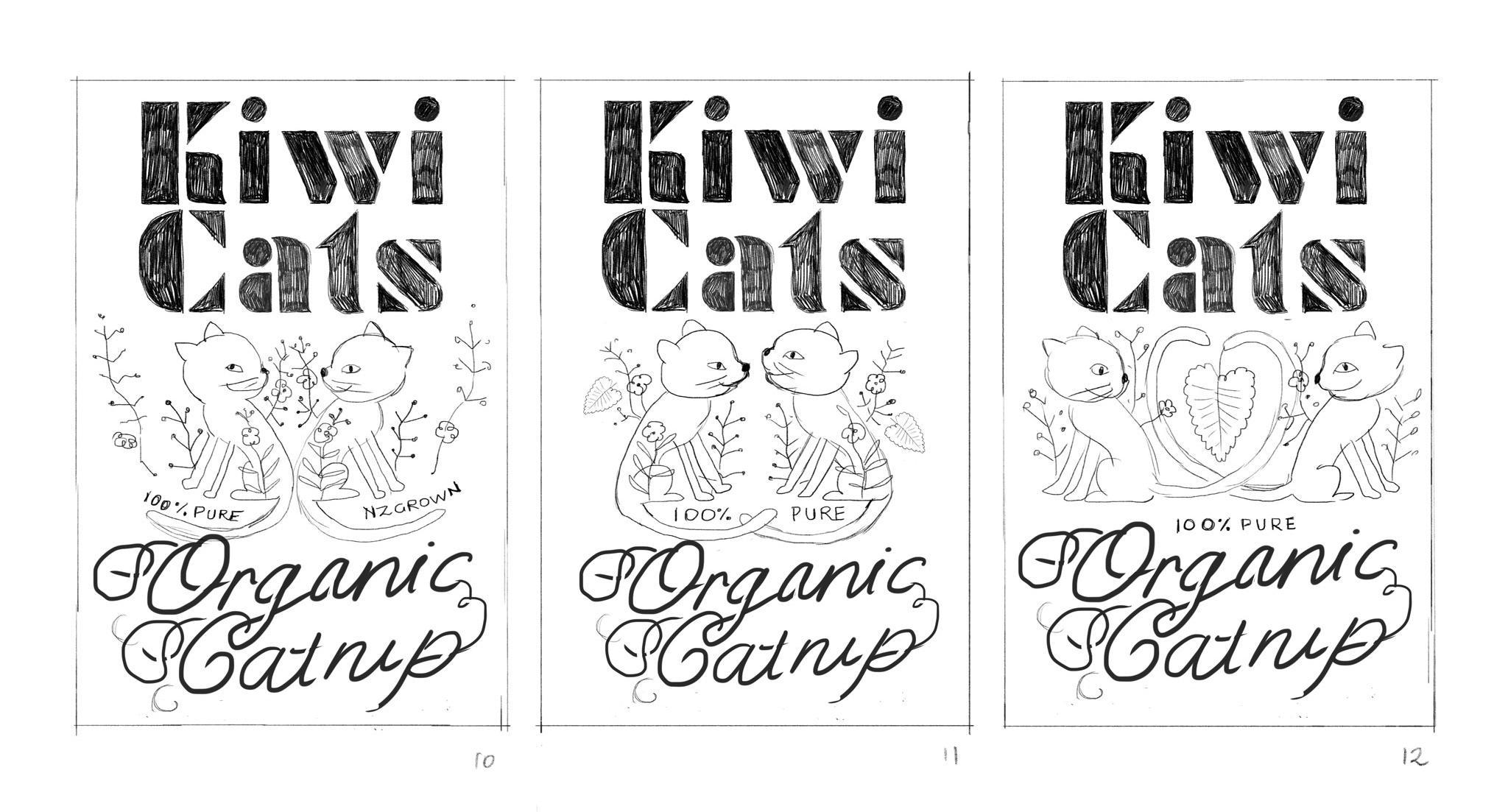 Organic Catnip Label - image 10 - student project