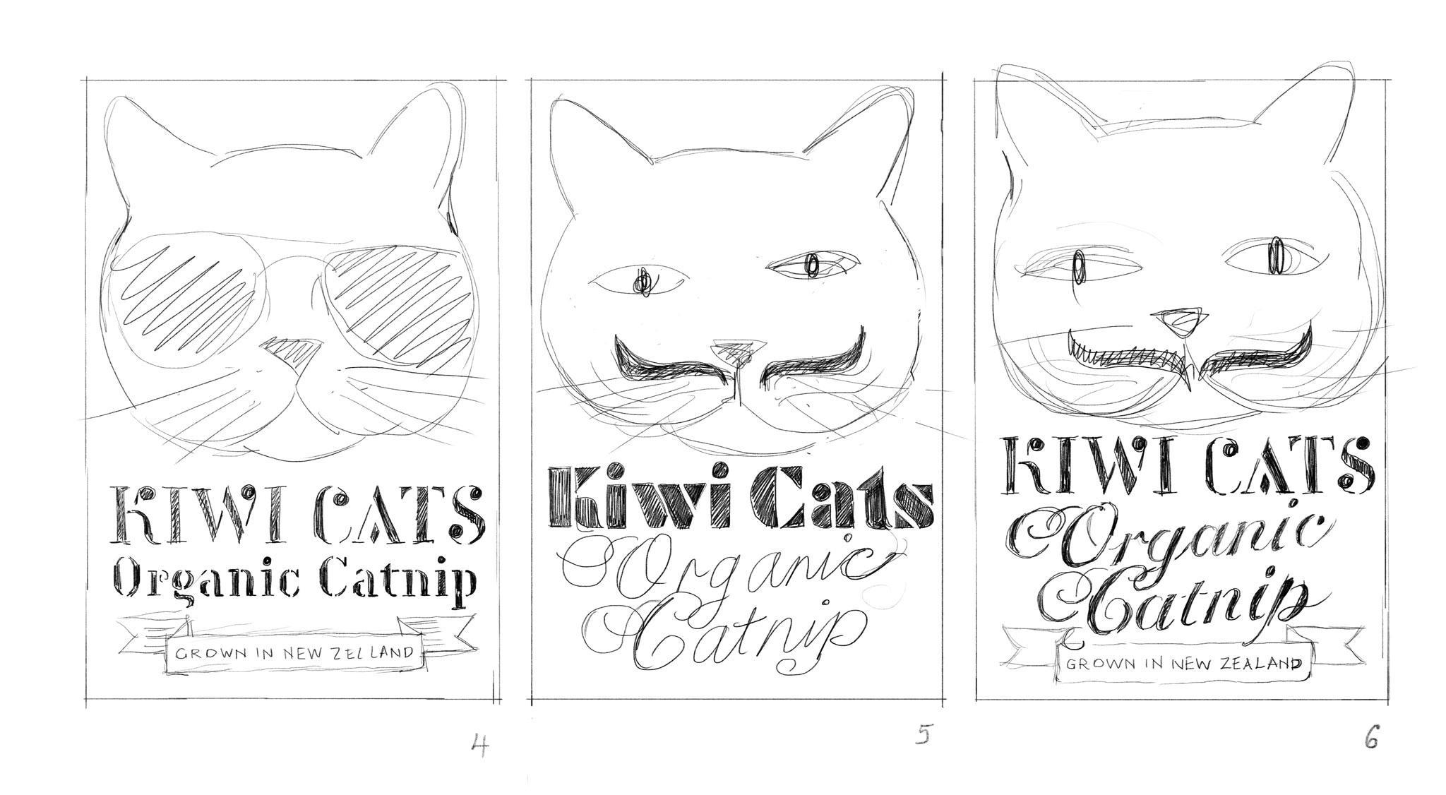 Organic Catnip Label - image 6 - student project