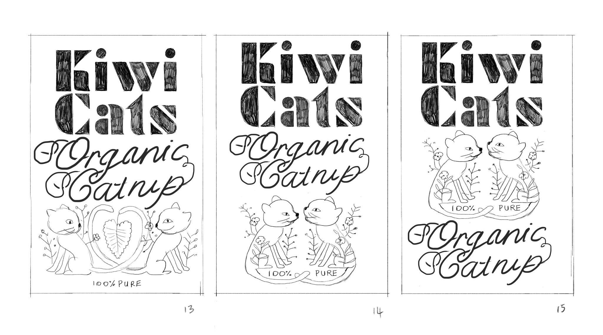 Organic Catnip Label - image 11 - student project