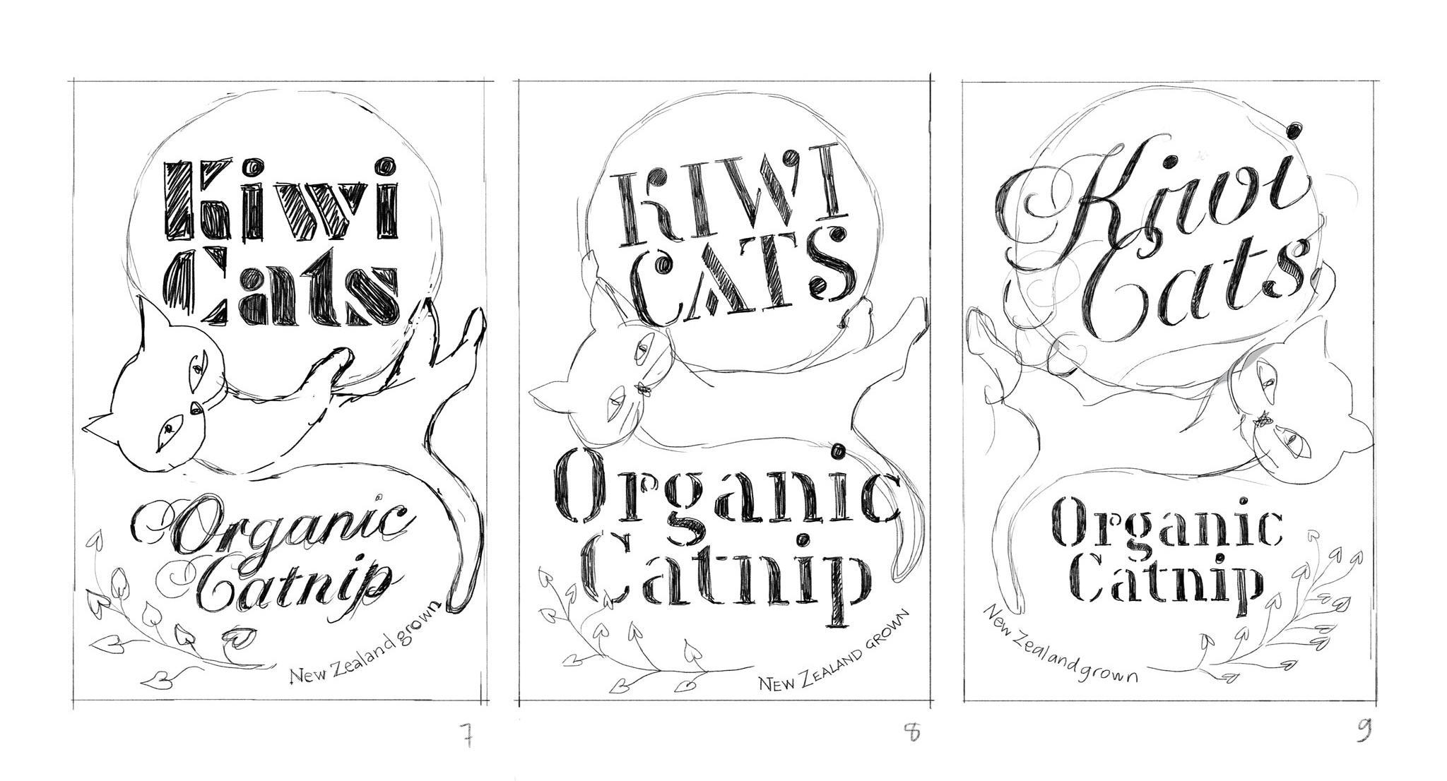 Organic Catnip Label - image 8 - student project