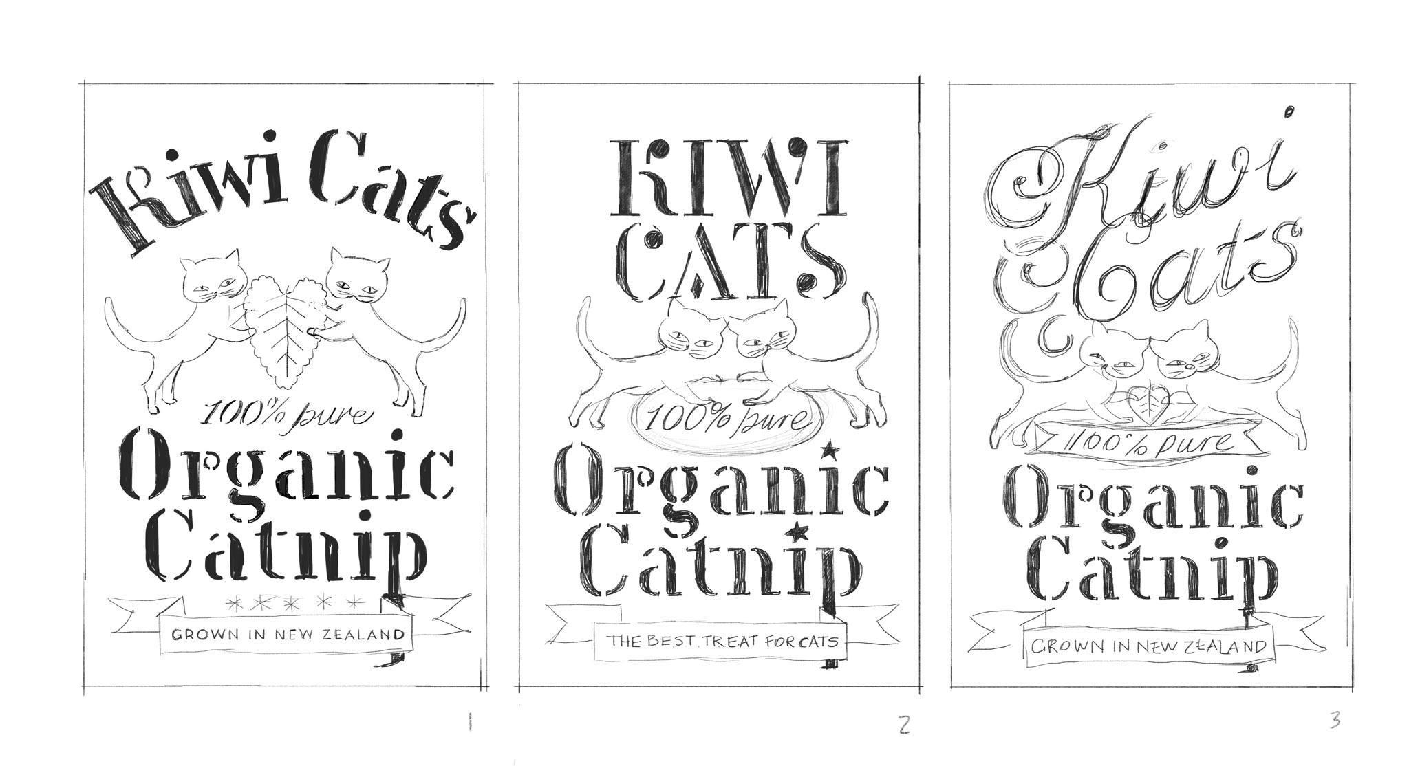 Organic Catnip Label - image 5 - student project