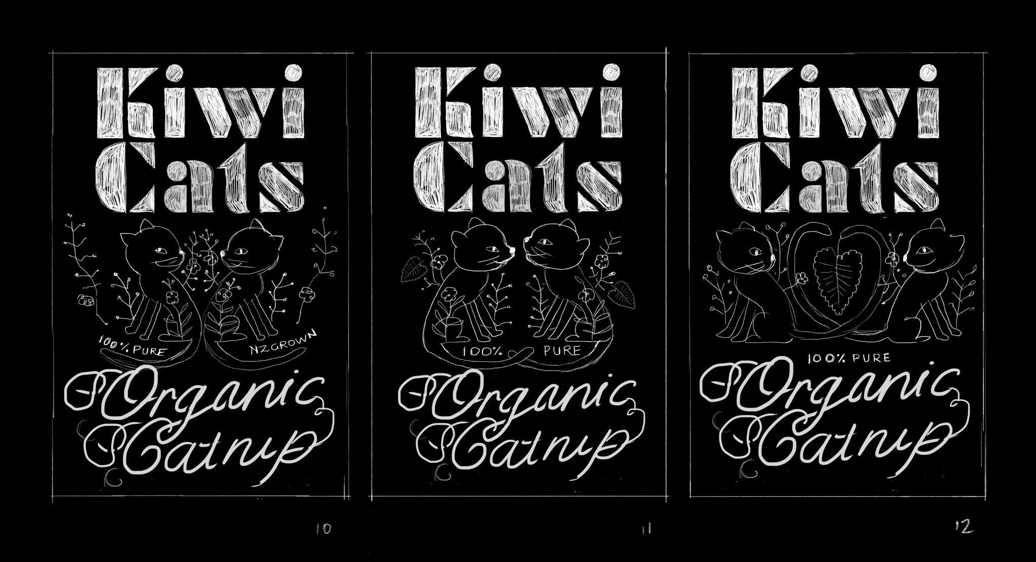Organic Catnip Label - image 9 - student project