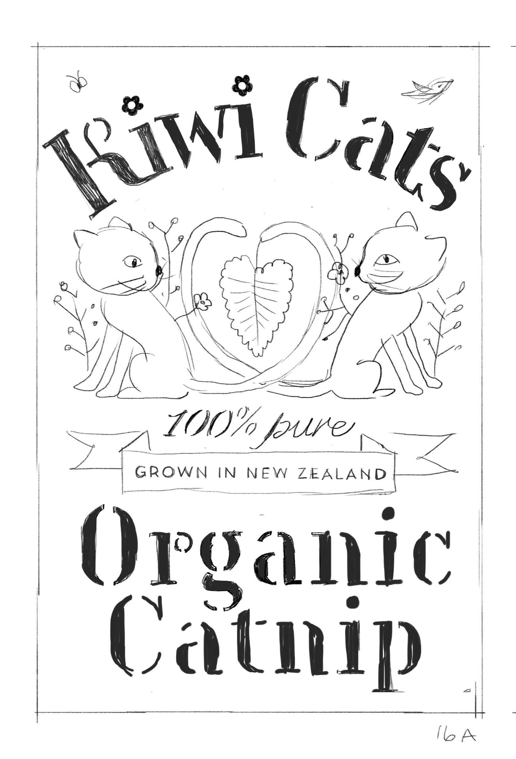 Organic Catnip Label - image 13 - student project