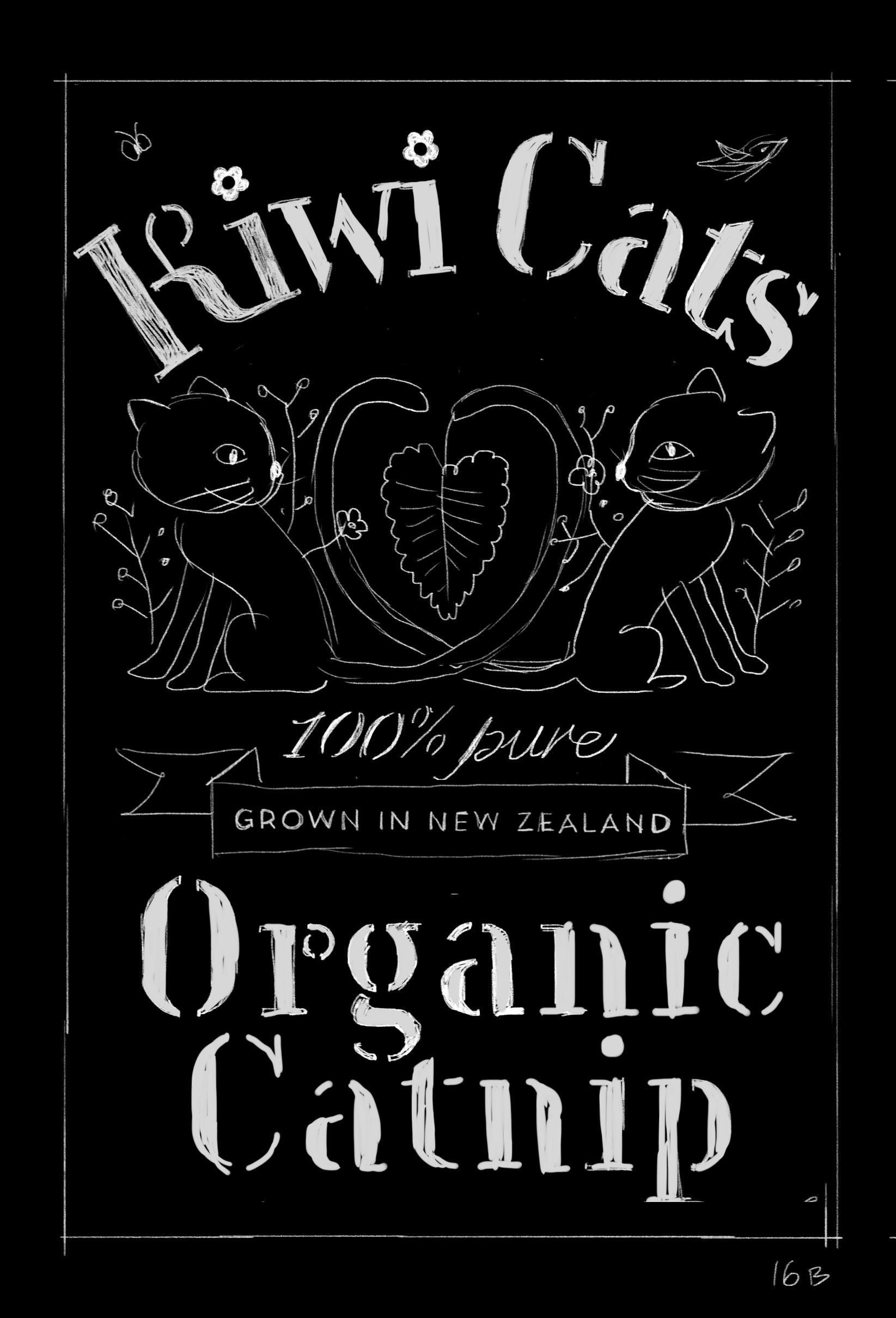 Organic Catnip Label - image 14 - student project