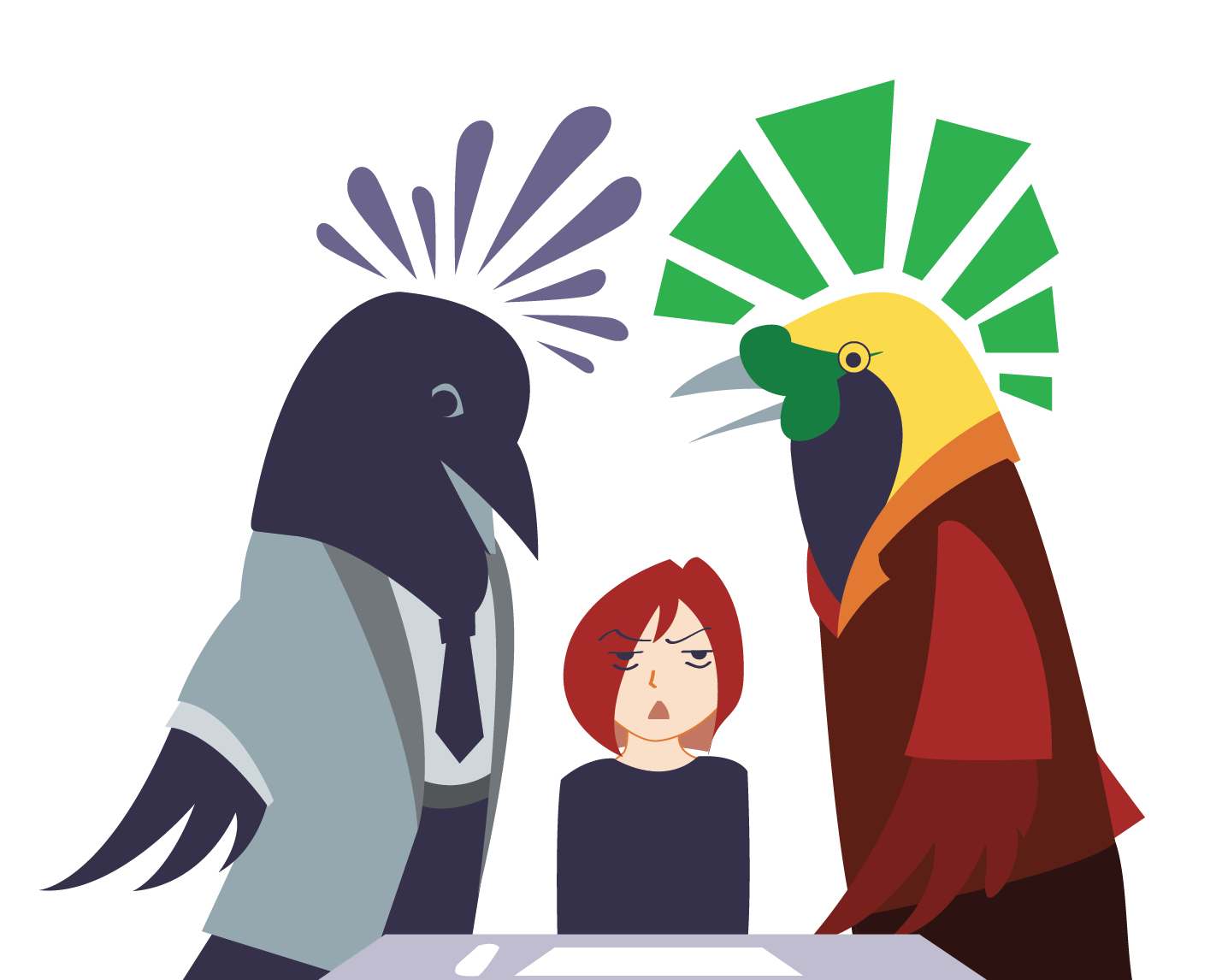 Office with Birds - image 2 - student project