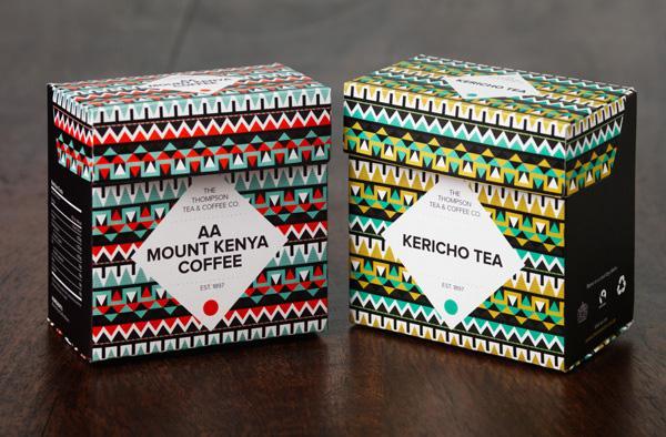 Thompson Tea & Coffee Motion Graphics - image 1 - student project