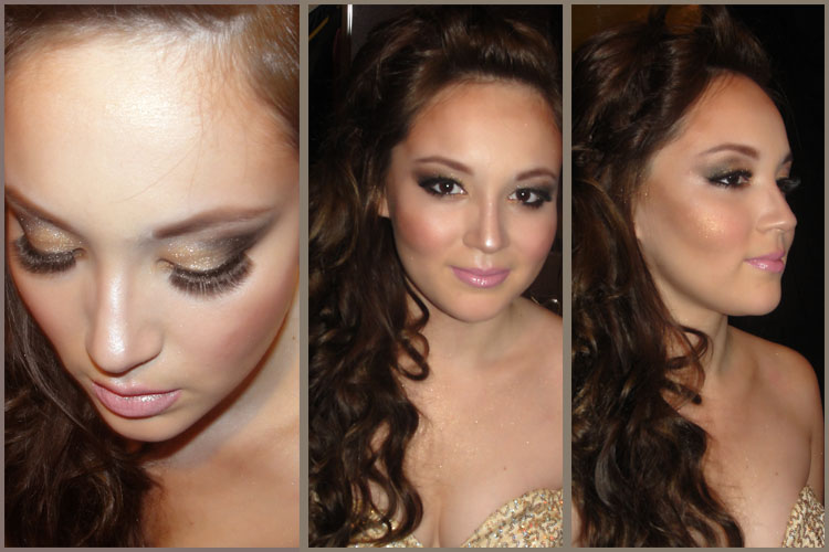 SUBTLY DAYTIME AND SULTRY NIGHTTIME EYE MAKE UP - image 1 - student project