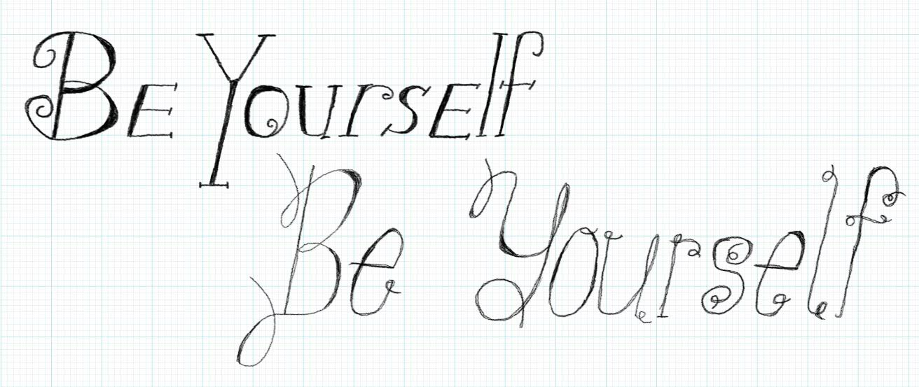 Be Yourself - image 1 - student project