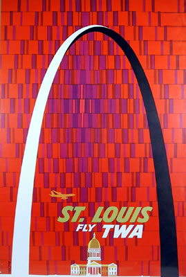 St Louis: Fly TWA - image 1 - student project