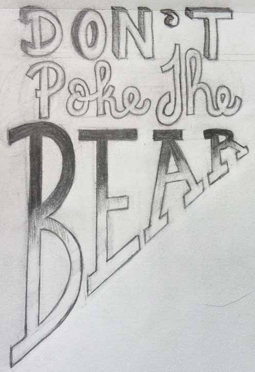 Don't Poke the Bear - image 1 - student project
