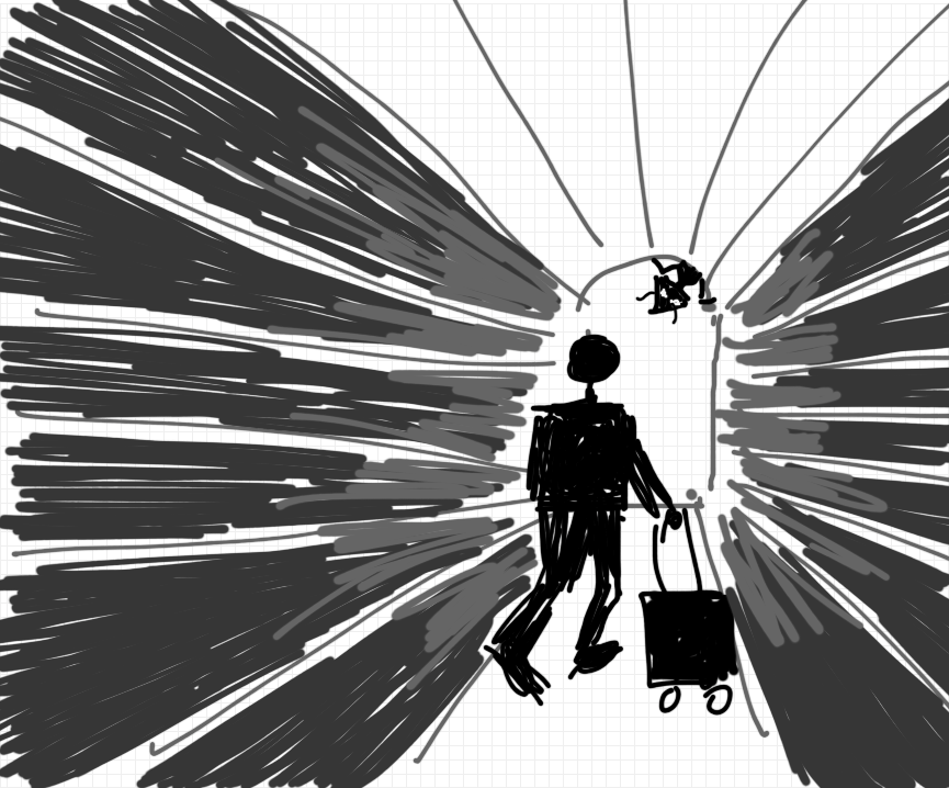 Traveler Arriving Is Greeted By Suspicious Host - image 1 - student project