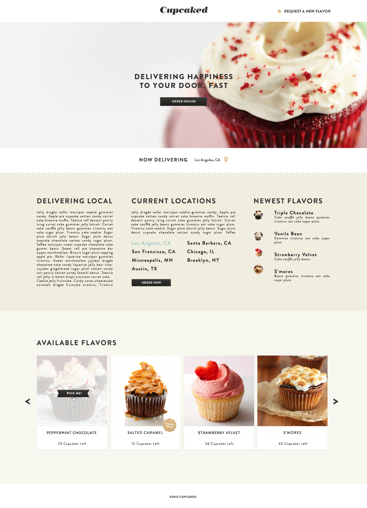 CUPCAKED - image 1 - student project