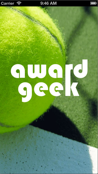 Award Geek: Tennis - image 11 - student project