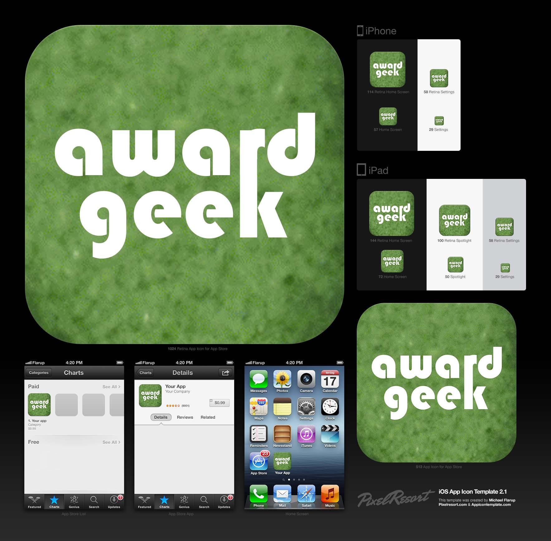Award Geek: Tennis - image 5 - student project