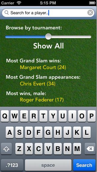 Award Geek: Tennis - image 15 - student project