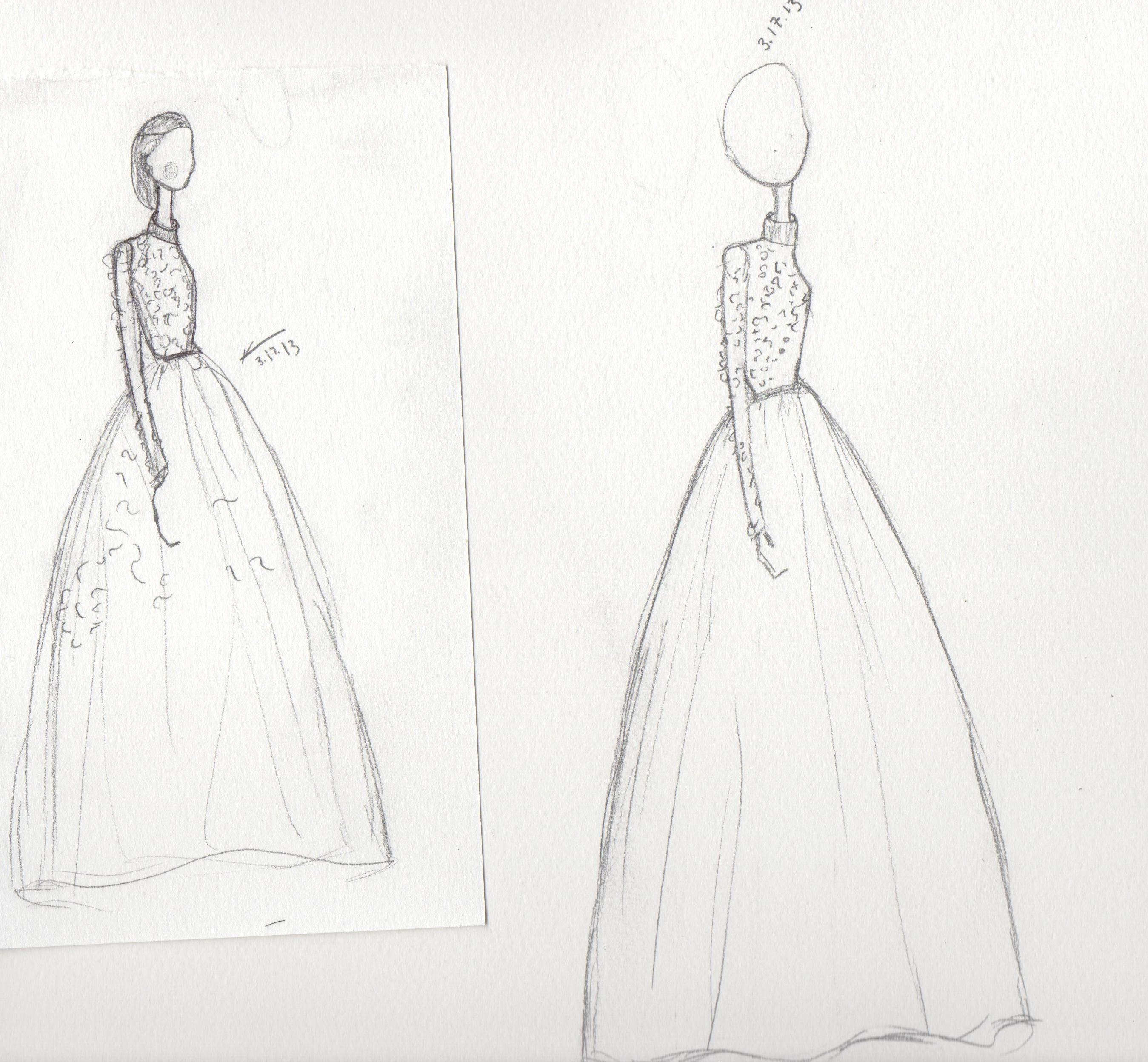 All that glitters and gold! Progress Sketches.. - image 2 - student project