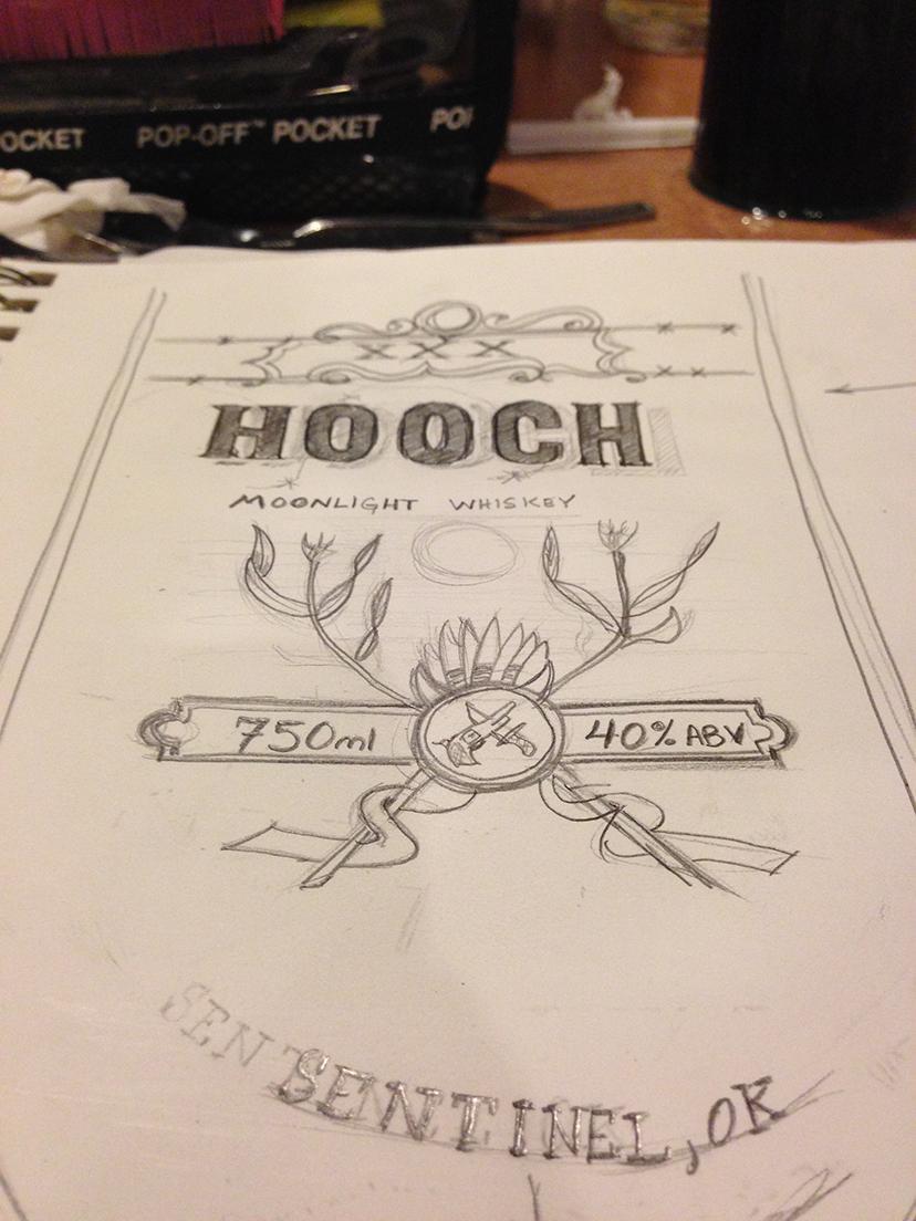 Hooch Moonlight Whiskey - image 8 - student project