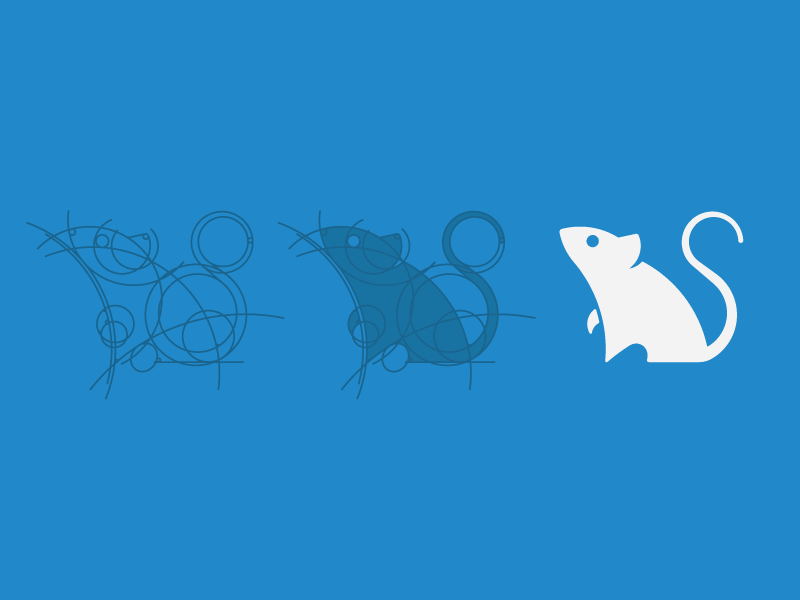 Deer Mouse Logo - image 9 - student project