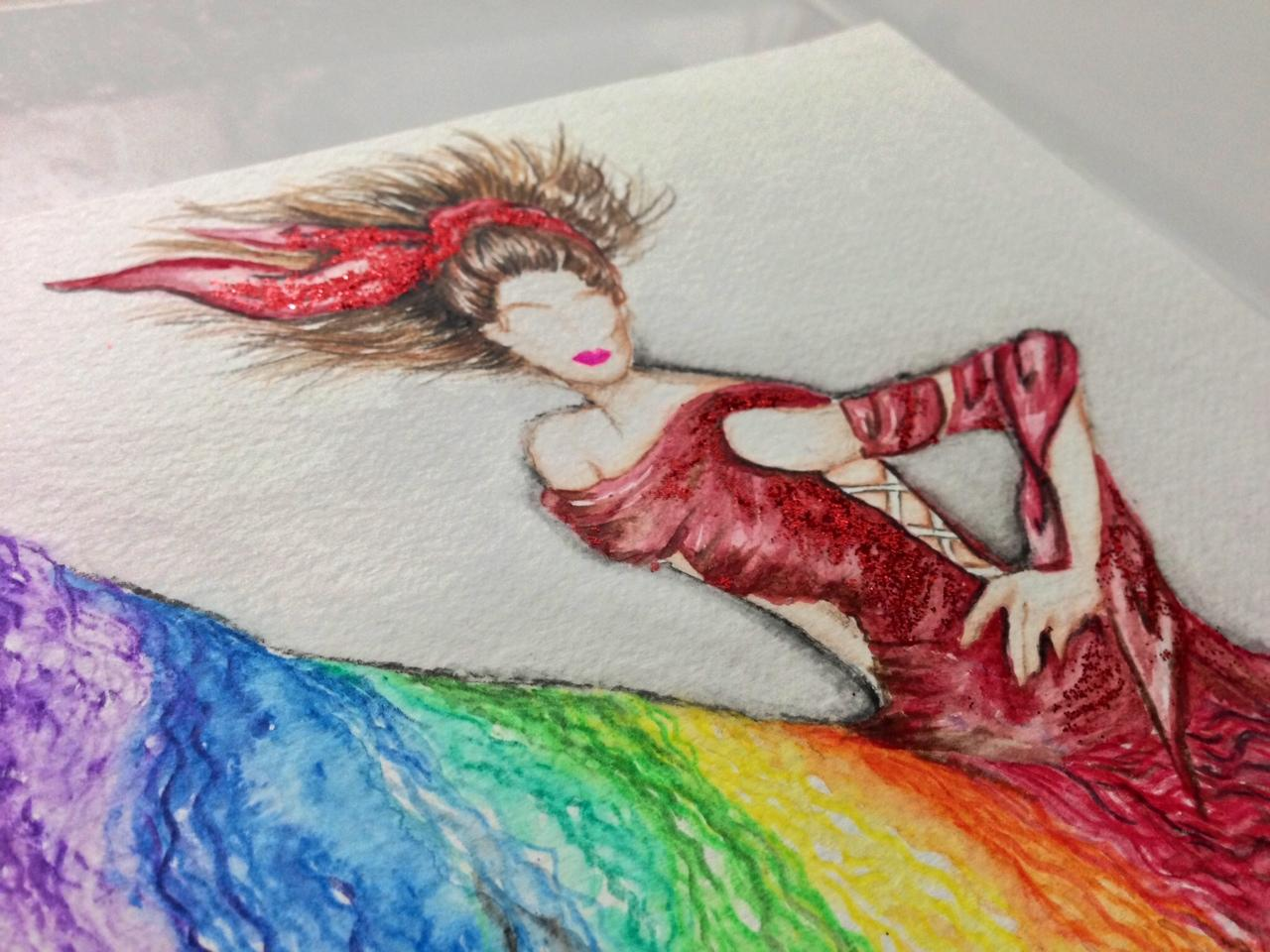 Final watercolour - I see you in my dreams - image 4 - student project