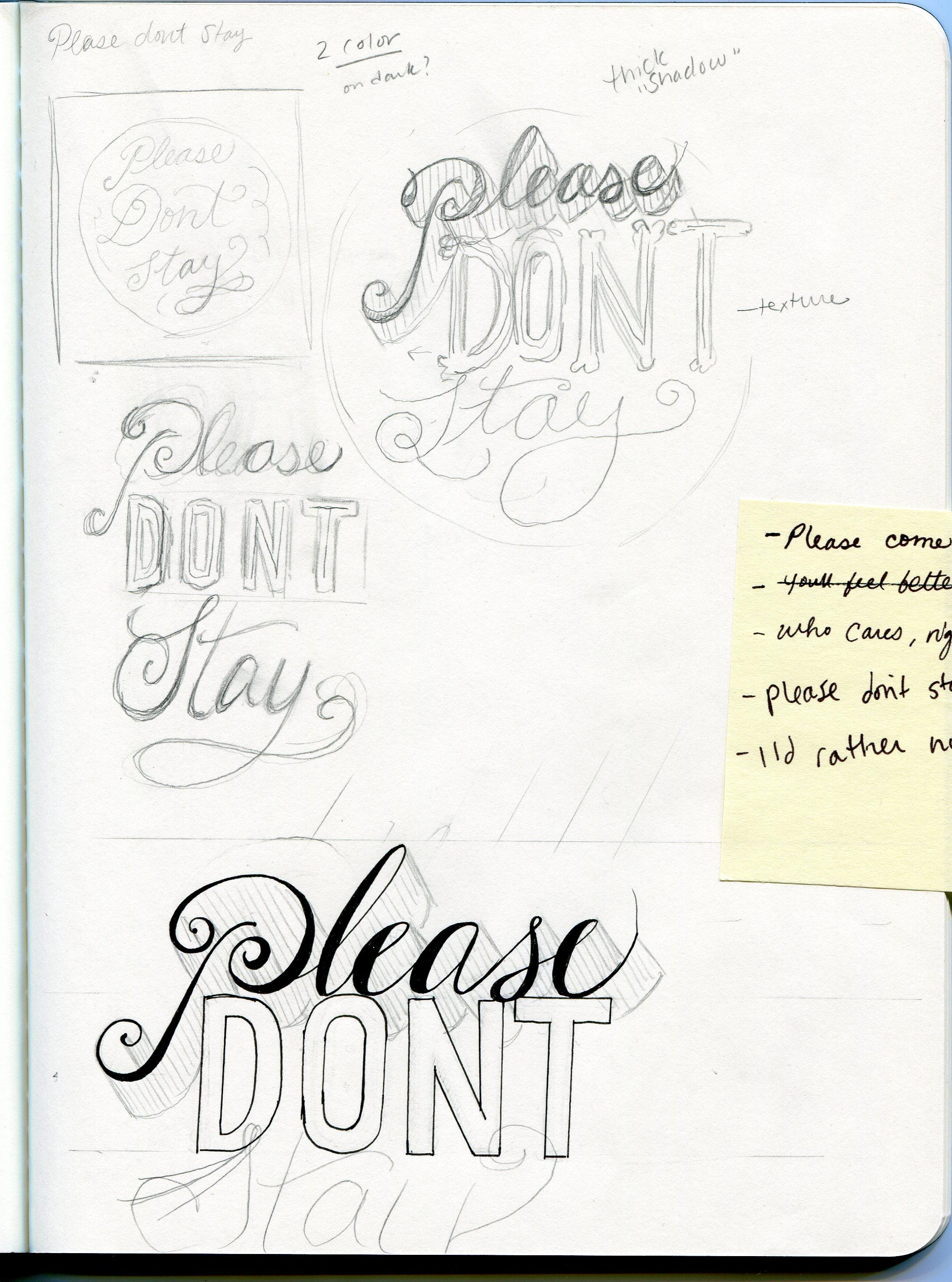 Please Don't Stay - image 2 - student project