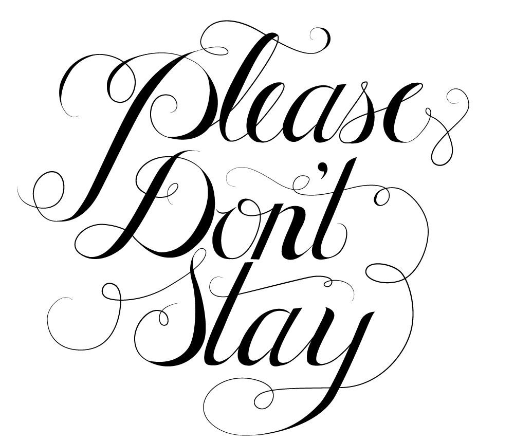 Please Don't Stay - image 4 - student project