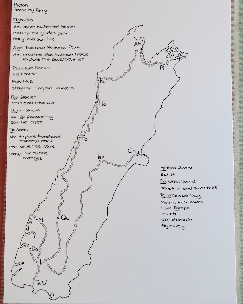Road Trip Guide to New Zealand - image 2 - student project