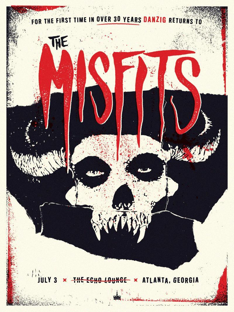 Misfits / Danzig Reunion - image 1 - student project
