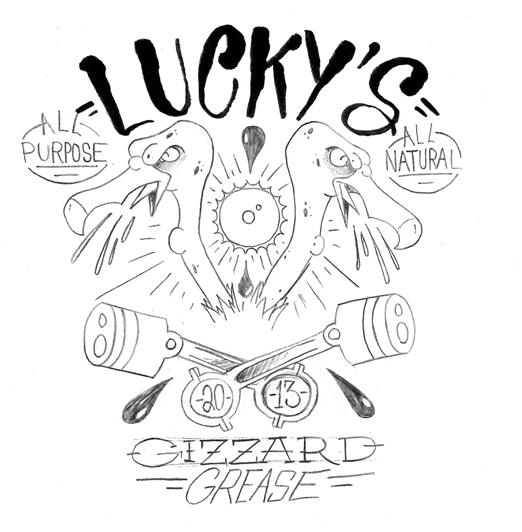 Lucky's All Purpose Gizzard Grease - image 8 - student project