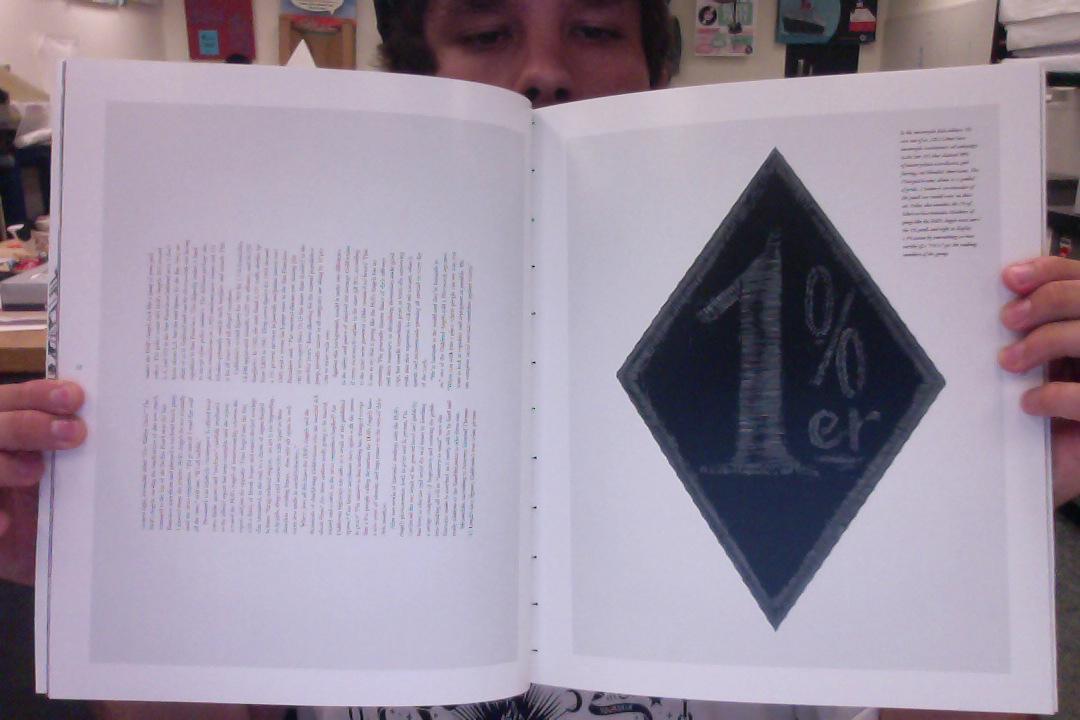 LOSER MAGAZINE MASTHEAD - image 4 - student project