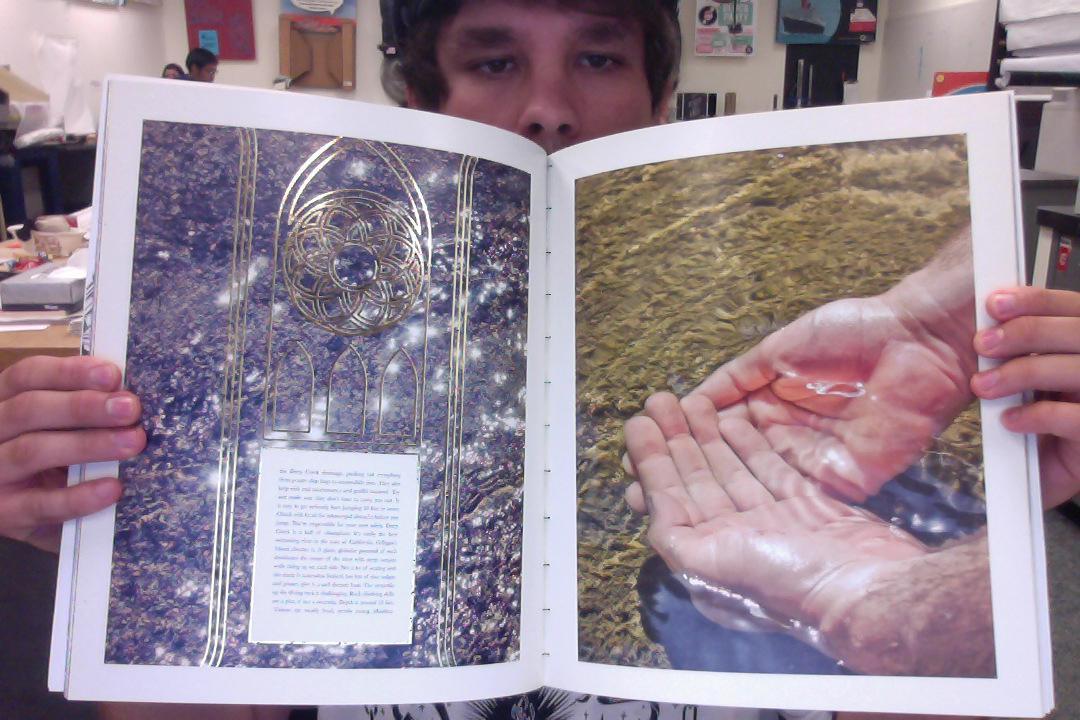 LOSER MAGAZINE MASTHEAD - image 6 - student project