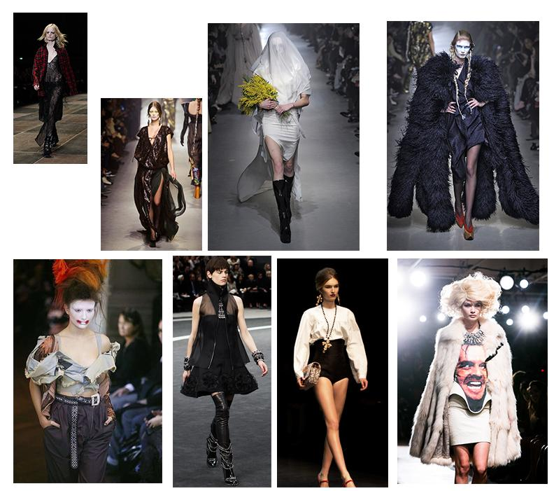 soft and feminine with a dark and edgy twist  - image 1 - student project