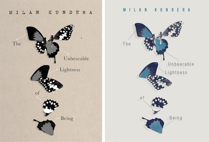 The Unbearable Lightness of Being - Cover Re-design - image 12 - student project