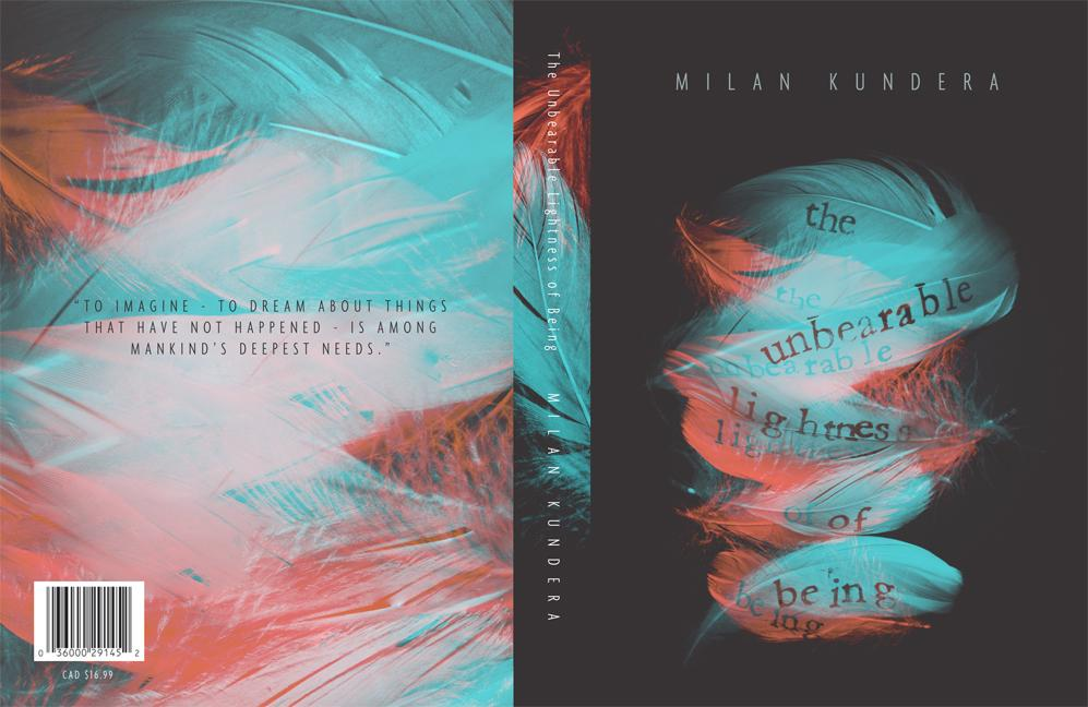 The Unbearable Lightness of Being - Cover Re-design - image 18 - student project