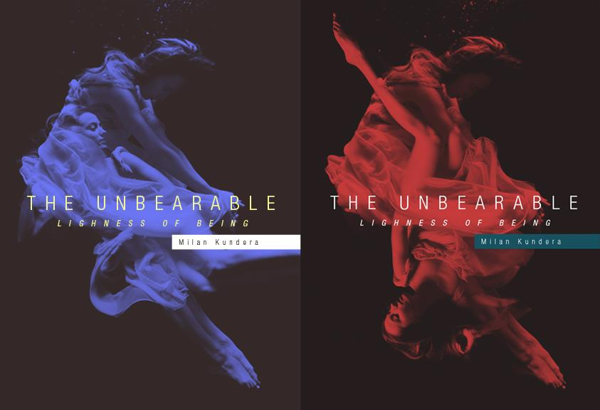 The Unbearable Lightness of Being - Cover Re-design - image 16 - student project