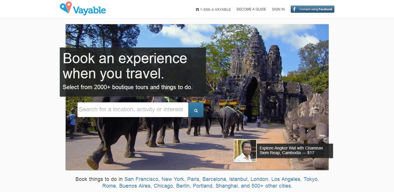 Excursiopedia Landing Page Re-Design - image 3 - student project