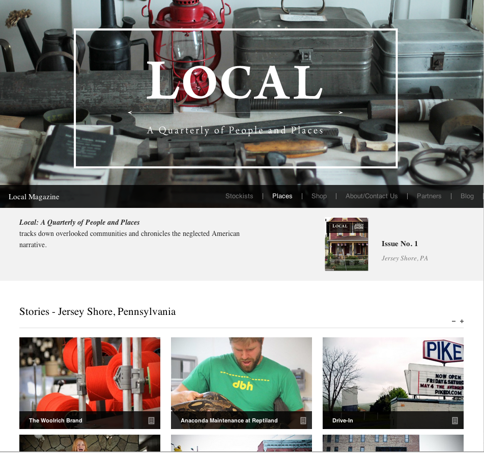 Local Quarterly - image 1 - student project