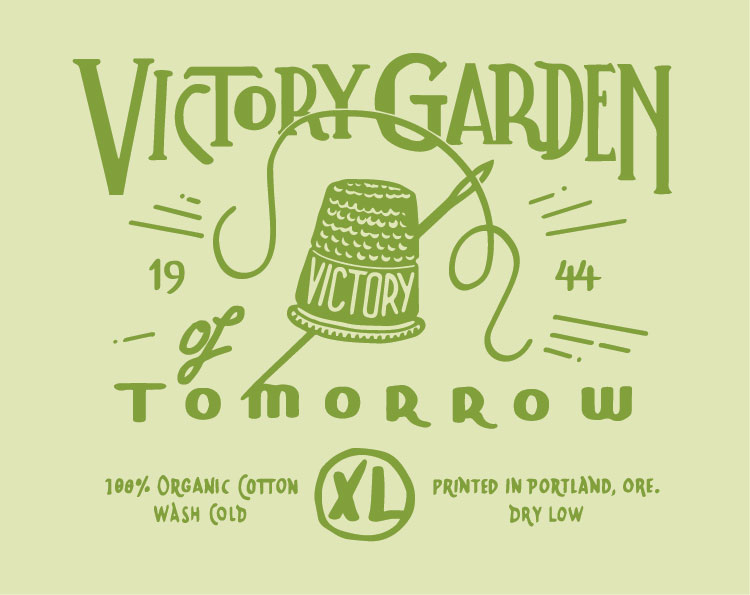 T-Shirts for The Victory Garden of Tomorrow - image 7 - student project