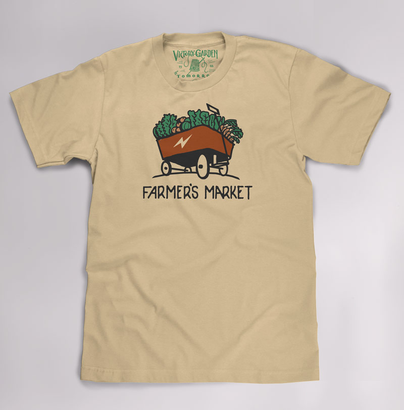 T-Shirts for The Victory Garden of Tomorrow - image 4 - student project