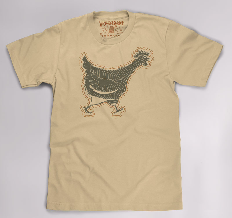 T-Shirts for The Victory Garden of Tomorrow - image 2 - student project