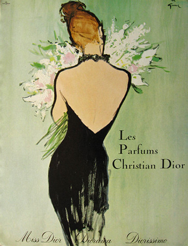 Vintage Dior Poster - image 1 - student project