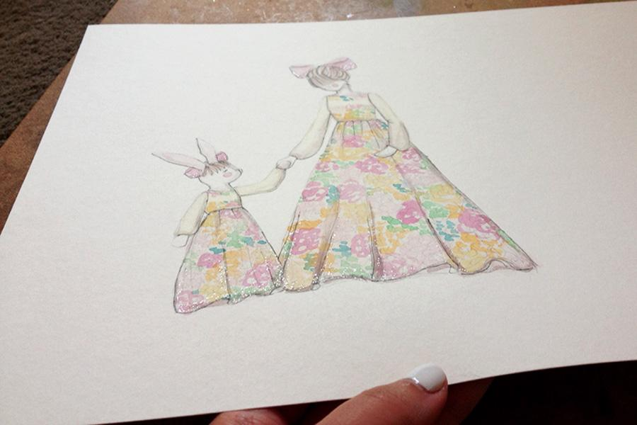 Whimsical Florals - image 3 - student project
