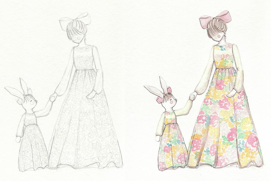 Whimsical Florals - image 2 - student project