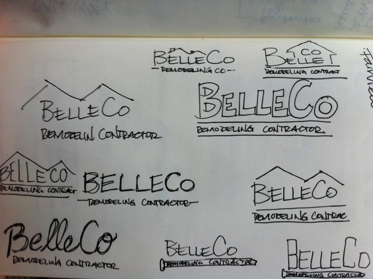 BelleCo / Self Logo - image 7 - student project